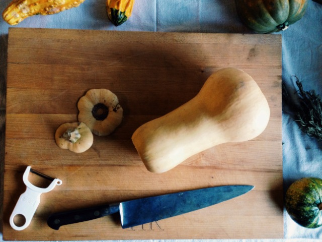 Trim butternut