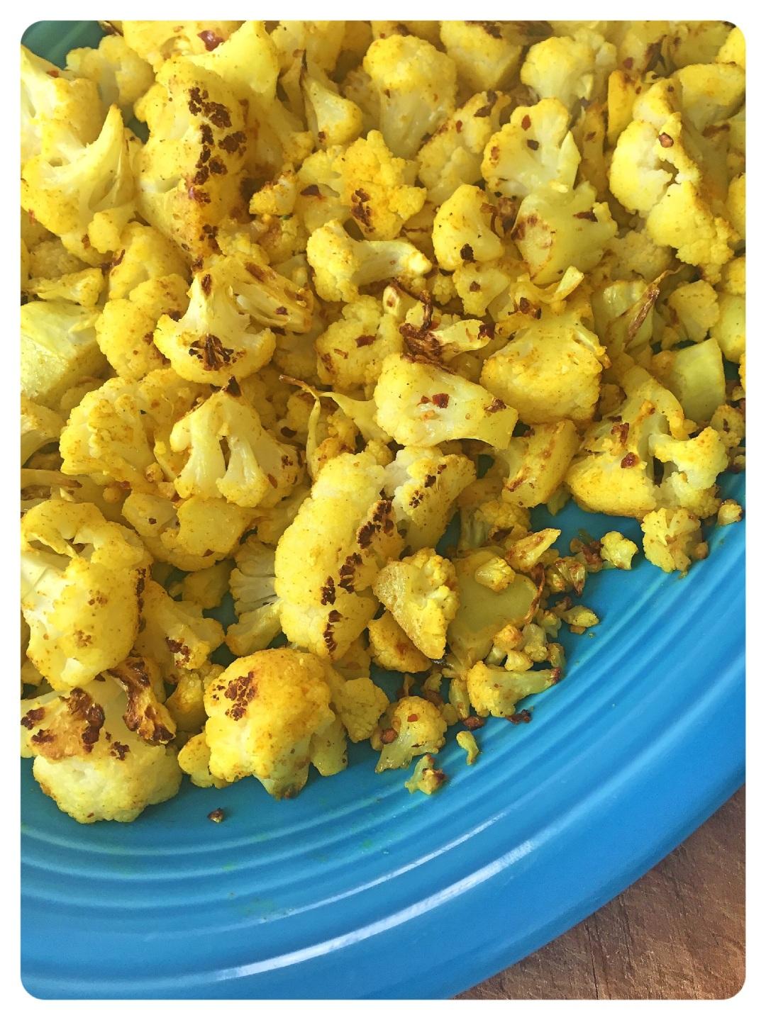 Turmeric Cauliflower